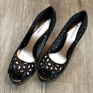 Naturalizer black high heels shoes 7.5